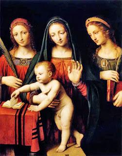 Luini, Madonna and Child