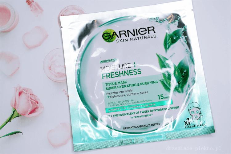 Garnier Skin Naturals Maska-Kompres Nawilżająco-Oczyszczająca