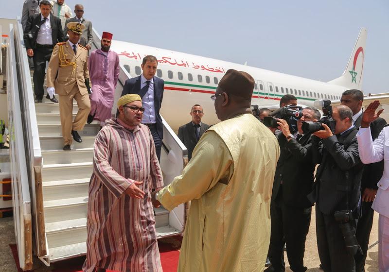 Mohammed VI au Sénégal va s'adresser aux Marocains pour la Marche Verte