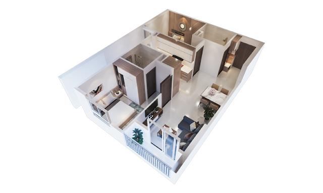 thiết kế chung cư ecohome 3