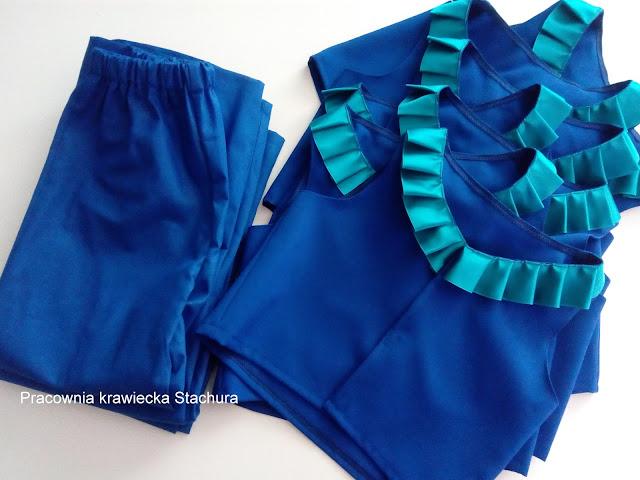 kąmplet. spodnie i kamizelka