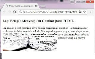 Cara Menyisipkan Gambar pada HTML