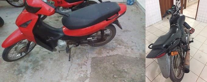 Duas motos com chassi adulterado são retiradas das ruas pela Polícia Militar em Chapadinha