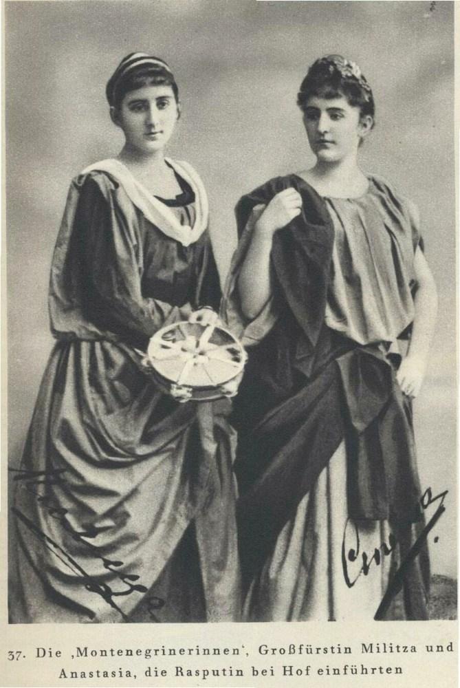 Militza and Anastasia: Montenegrin Princesses, Russian Grand Duchesses