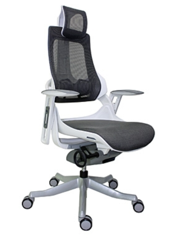 Wau High Back  Mesh Office Chair by Eurotech