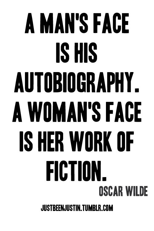 Life's Side Story: Oscar Wilde's Quotes