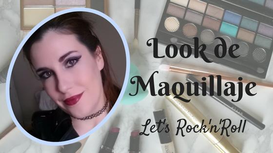 Maquillaje look rockero