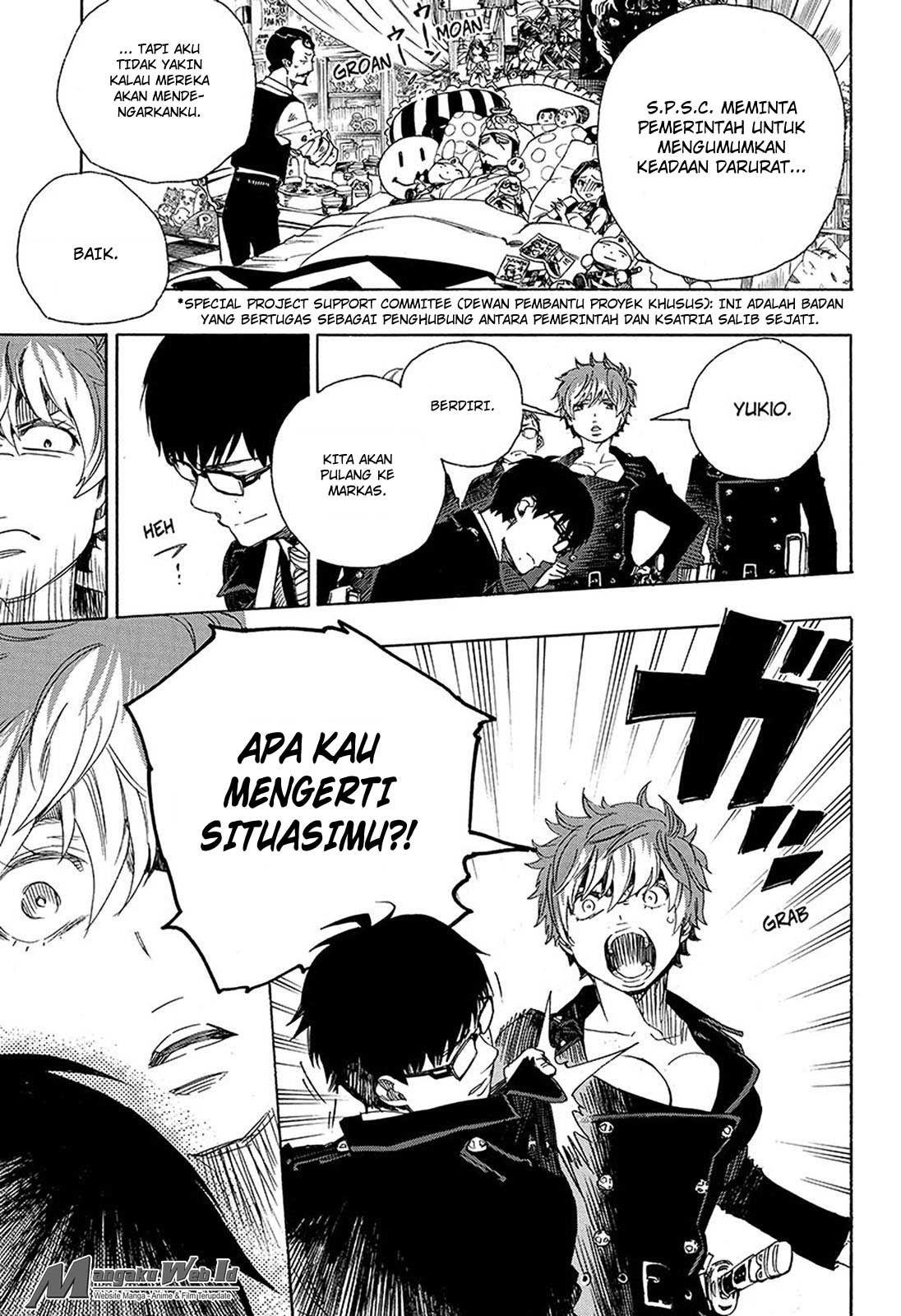Ao no Exorcist Chapter 95-3
