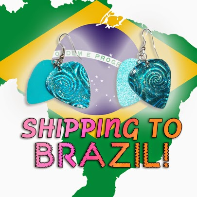 Shipping to Brazil is now available!