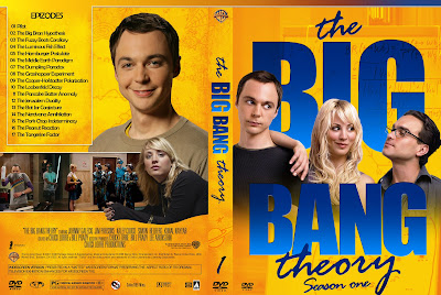 Capa DVD The Big Bang Theory Temporadas 1 A 4