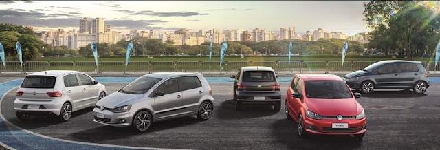 VW Fox Run - cores disponíveis