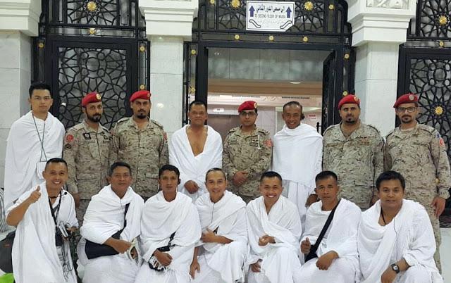 Wow, Panglima TNI Umroh Dikawal Prajurit Kopassus Saudi