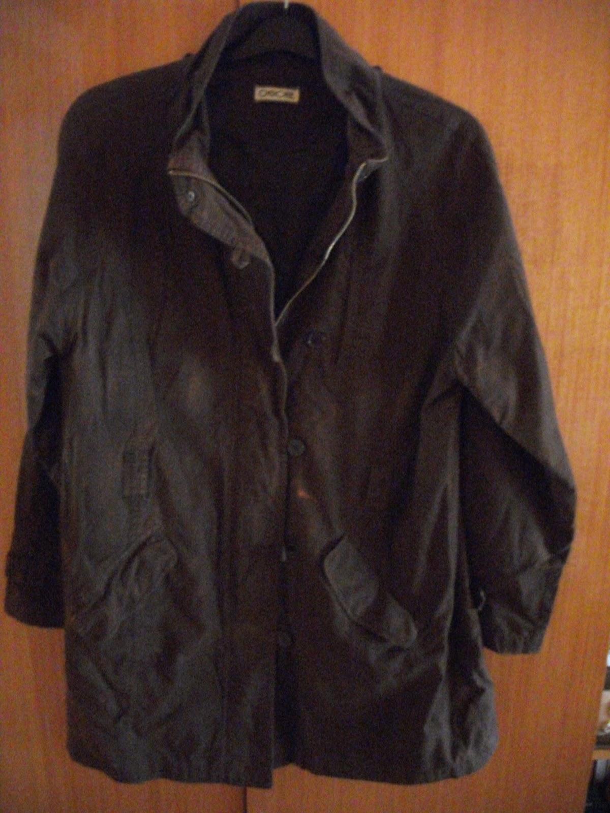 d6996077a7 Cherokee barna tavaszi/őszi kabát több helyen foltokkal+kapucni, 46-os méret.  1000 Ft