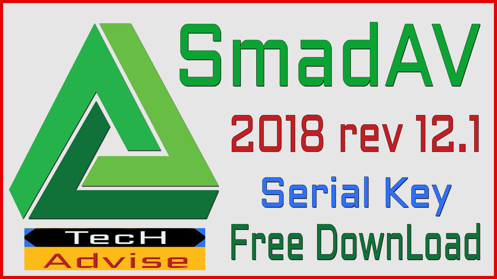 smadav 2018 setup with key