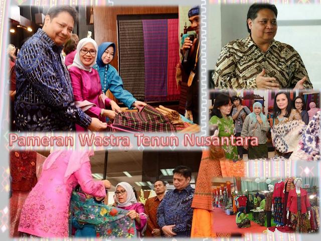 Kain Tenun, Baju Tenun, Batik Tenun Diapresiasikan Lewat Pameran Wastra Tenun Nusantara