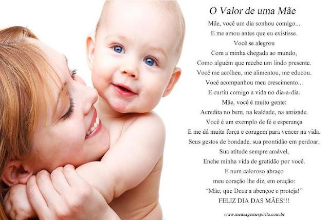 Mensagens Para O Dia Das Mães: LINDAS MENSAGENS PARA O DIA DAS MÃES