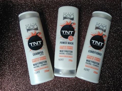 Resenha: Linha TNT Hair Energy  Phytogen Kert