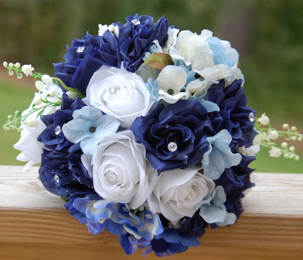 Blue Wedding Flowers Early Flower