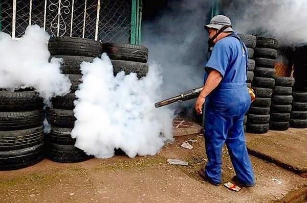 Spraying Organophosphorus Compounds