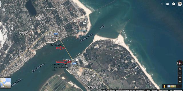 Báo động: Người Trung Quốc đã lập căn cứ sát nách Cửa Việt - Quảng Trị
