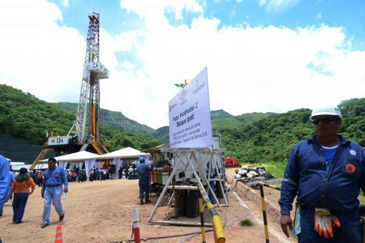 Conflicto por campo gasífero enfrenta a Santa Cruz con Chuquisaca / WEB