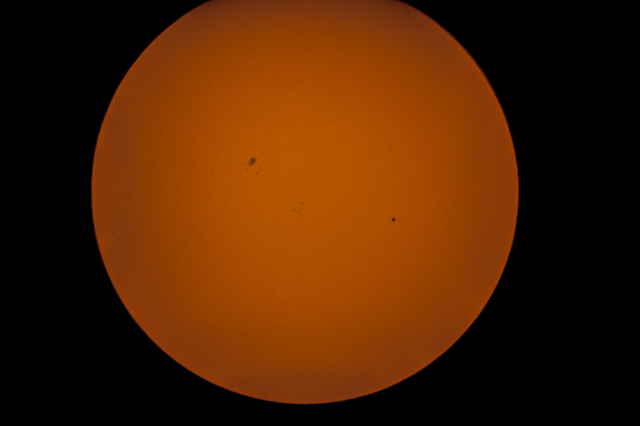 Mercury Transit of the Sun from the Coachella Valley 5-9-16