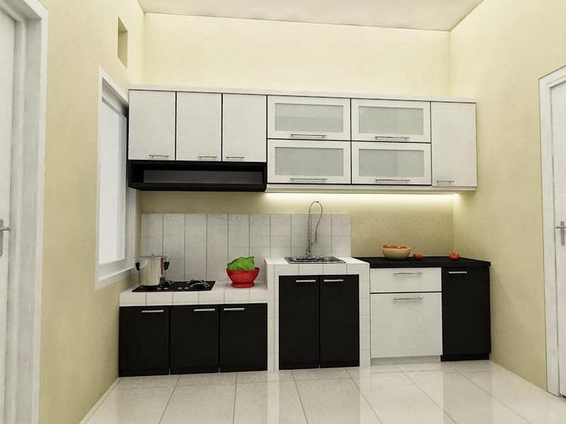 55 desain dapur mungil cantik dan bergaya modern untuk