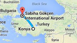 Konya İstanbul-Sabiha Gökçen