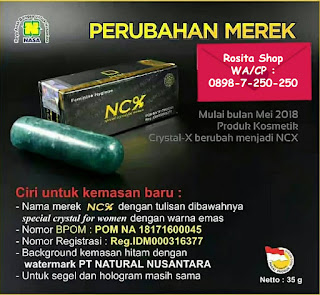khasiat manfaat harga jual ncx asli nasa