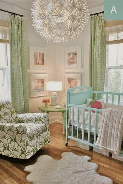 cuarto decorado para bebé