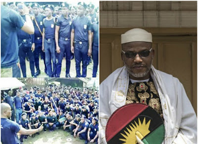 Igbo Students Union volunteers to join Biafra Security Service to protect Nnamdi Kanu