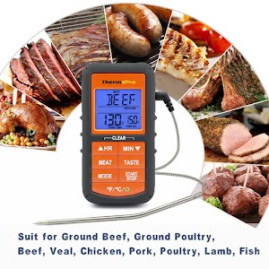 Best Top Grill Thermometer Reviews Ratings With Buyers Stats - Food Thermometer Buyer's Guide