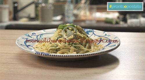 Pronto e postato - Spaghetti alla nerano ricetta Benedetta Parodi