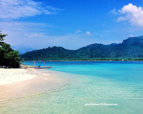 Pulau Sebuku, Kekayaan Dan Keindahan Alam Laut Dari Bandar Lampung