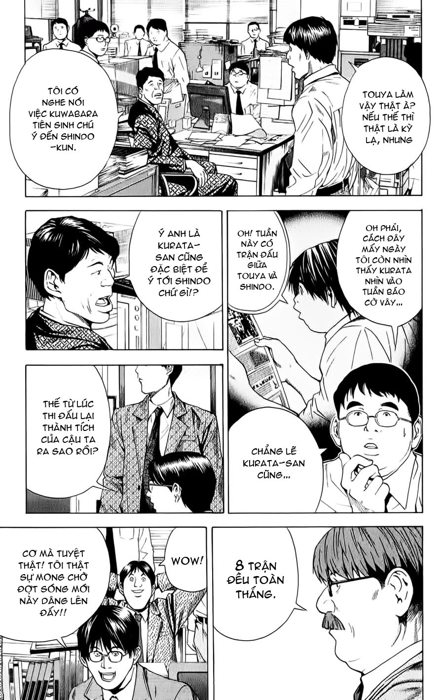 Hikaru No Go hikaru no go chap 147 trang 3