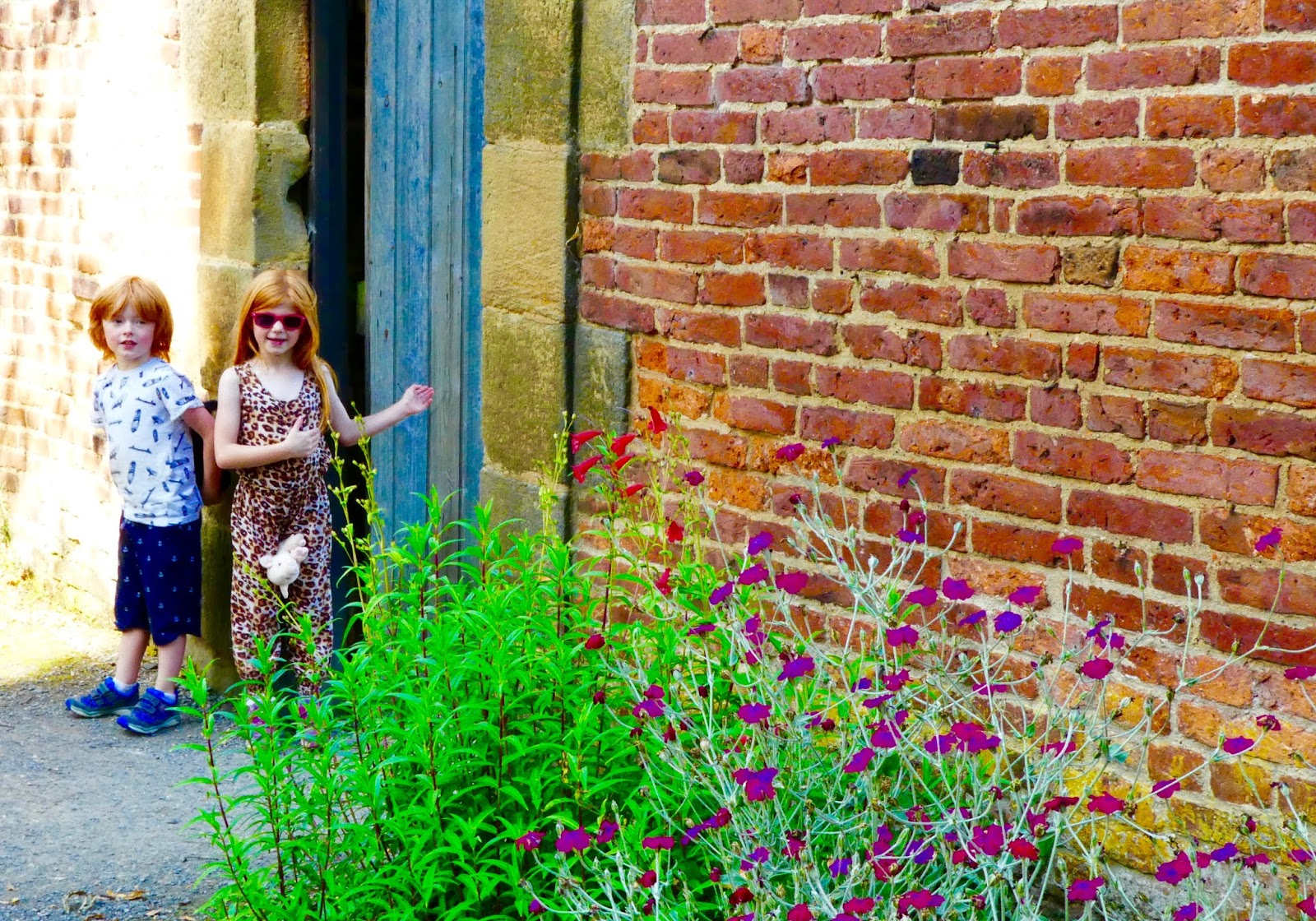 Gibside - A North East National Trust Property that's ideal for Picnics, Adventure Playground fun and beautiful gardens - walled garden entrance