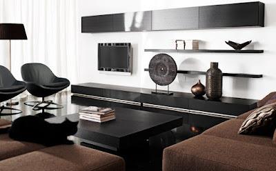 Modern Living Room Furniture Decoration