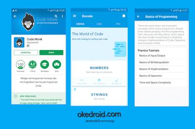 CodeMonk Aplikasi Android