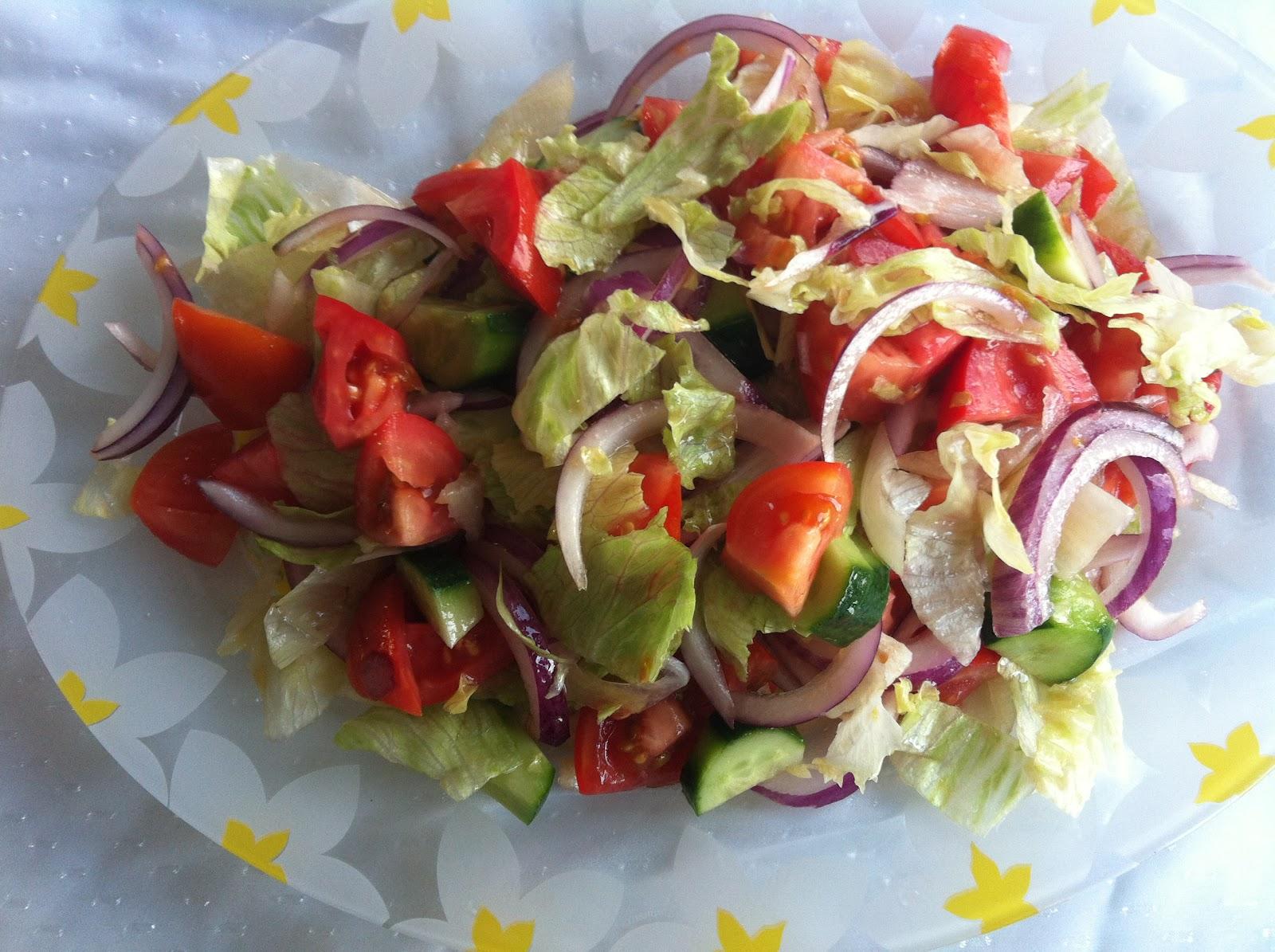 Kırmızı kefalli Niçoise salatası tarifi