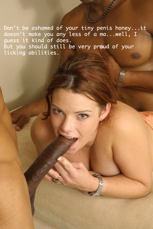 Think, that wife ashamed of husbands small cock very