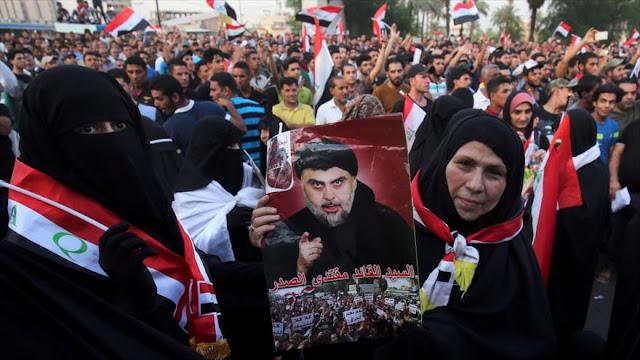 Miles de iraquíes protestan contra la corrupción en Bagdad