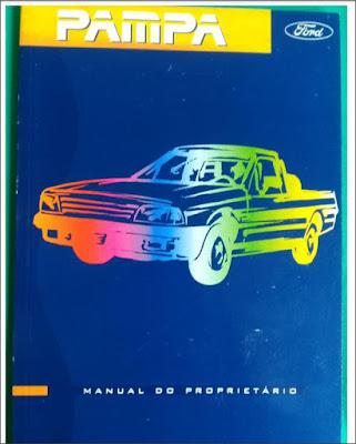 Manual do proprietário Ford Pampa 96-97