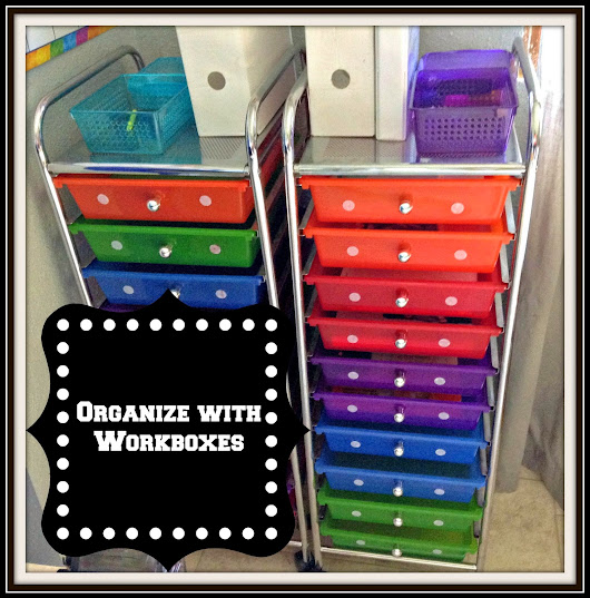 Get Organized! Using Workboxes for your Homeschool