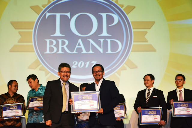 toyota top brand award