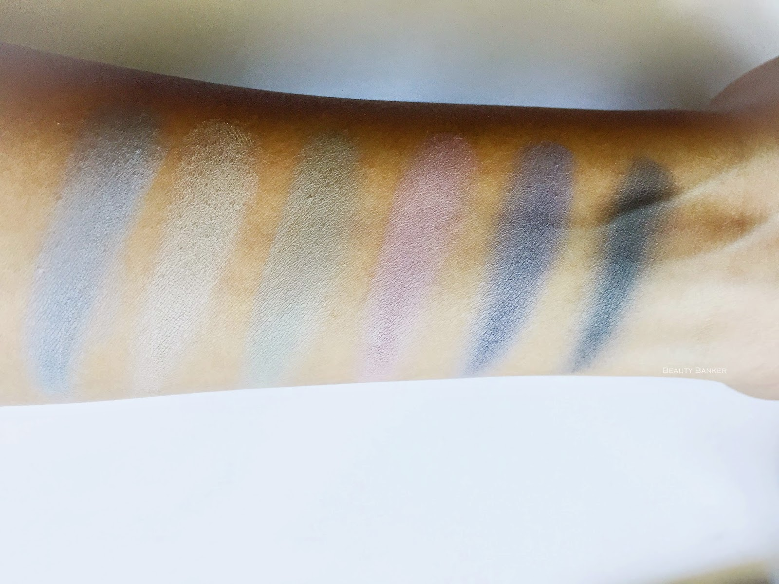 Laura Mercier Watercolor Clouds collection Swatches