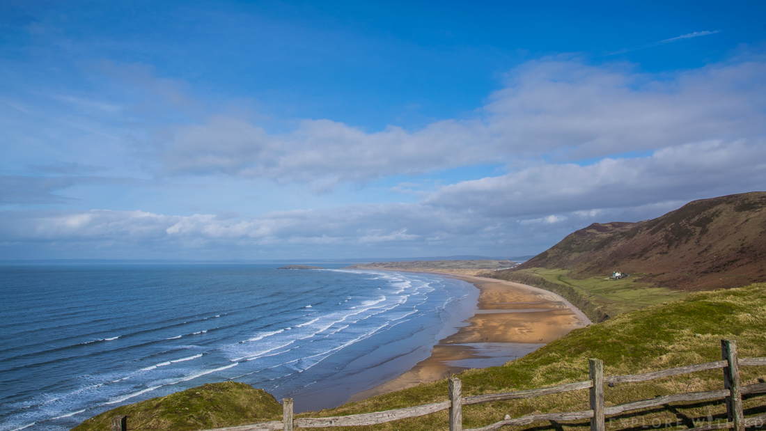 Rhossili Bay Beach, Britain's Best Beach