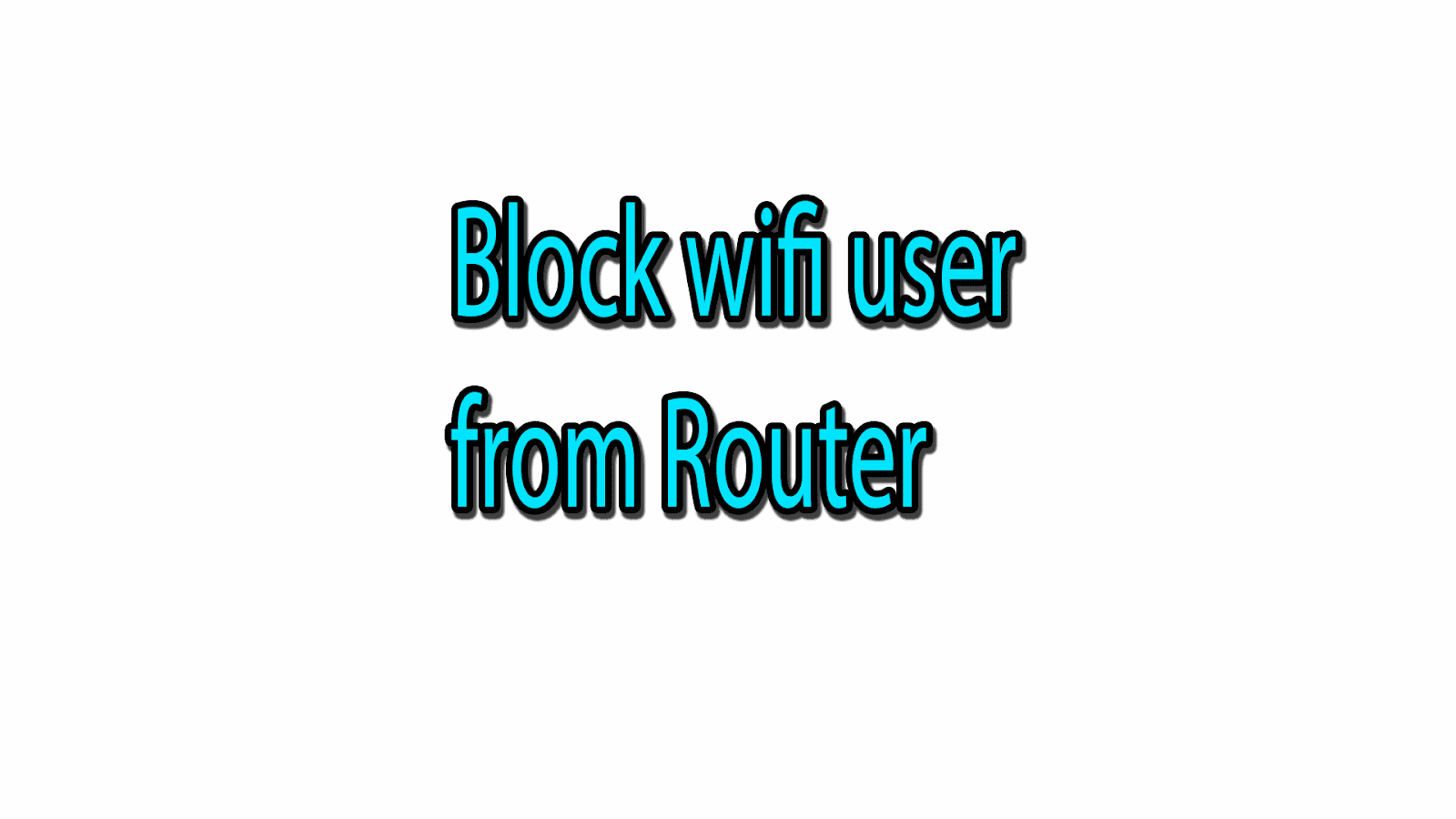 How to Block wifi user from router Tp-Link - Urdu Tutorials