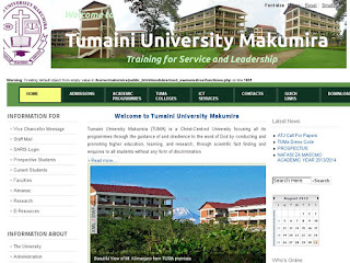 Image result for Tumaini University Makumira (TUMA)