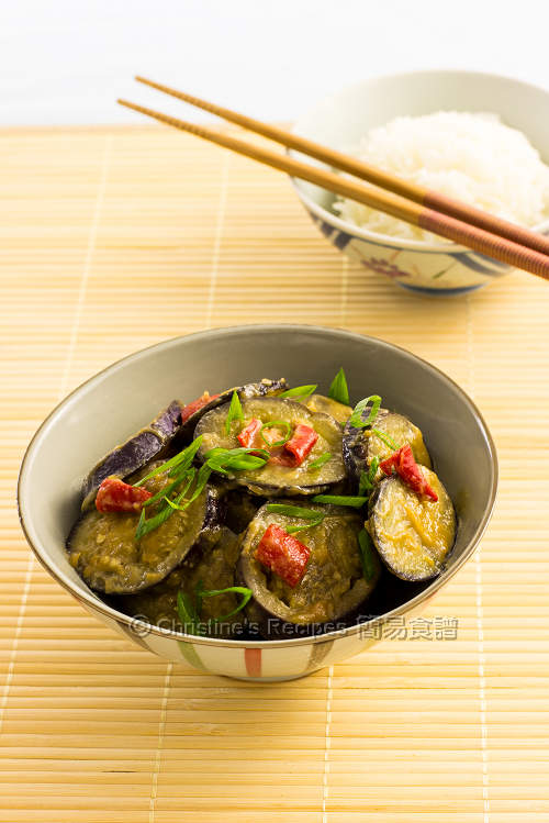 炒味噌茄子  Pan-fried Miso Eggplants01