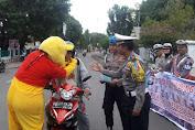 Satlantas Polres Kep. Selayar Sosialisasikan Keselamatan Berlalulintas